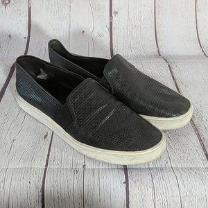 VINCE | Black Blair Perforated Sneakers 9.5